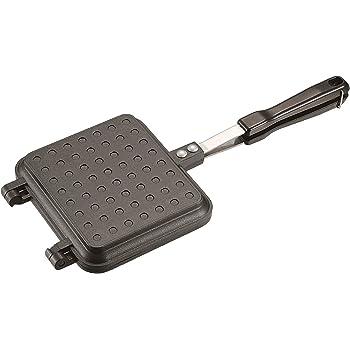 キャプテンスタッグ(CAPTAIN STAG) BBQ用 キャストアルミ ホットサンドトースター トーストメーカー ふっ素樹脂加工 UG-3005 / UG-3024 / UG-3057