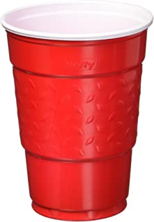Hefty Easy Grip Party Cups, Red, 50 Count