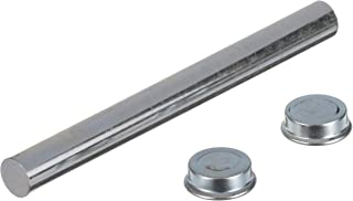 attwood 11282-3 Roller Shaft Set — with Pal Nuts, Solid Zinc-Plated Steel, 6 3/8-In. Long for 5 ¼-in. Roller