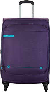 VIP Polyester 58 cms Purple Softsided Cabin Luggage (Conrad)