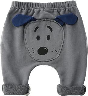 Pantalones Beb/é Pantalones De Ch/ándal Unisexo Pantalones Deportivos Algod/ón Harem Joggers 3-6 Meses