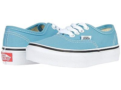 Vans Kids Authentic (Little Kid) (Delphinium Blue/True White) Kids Shoes
