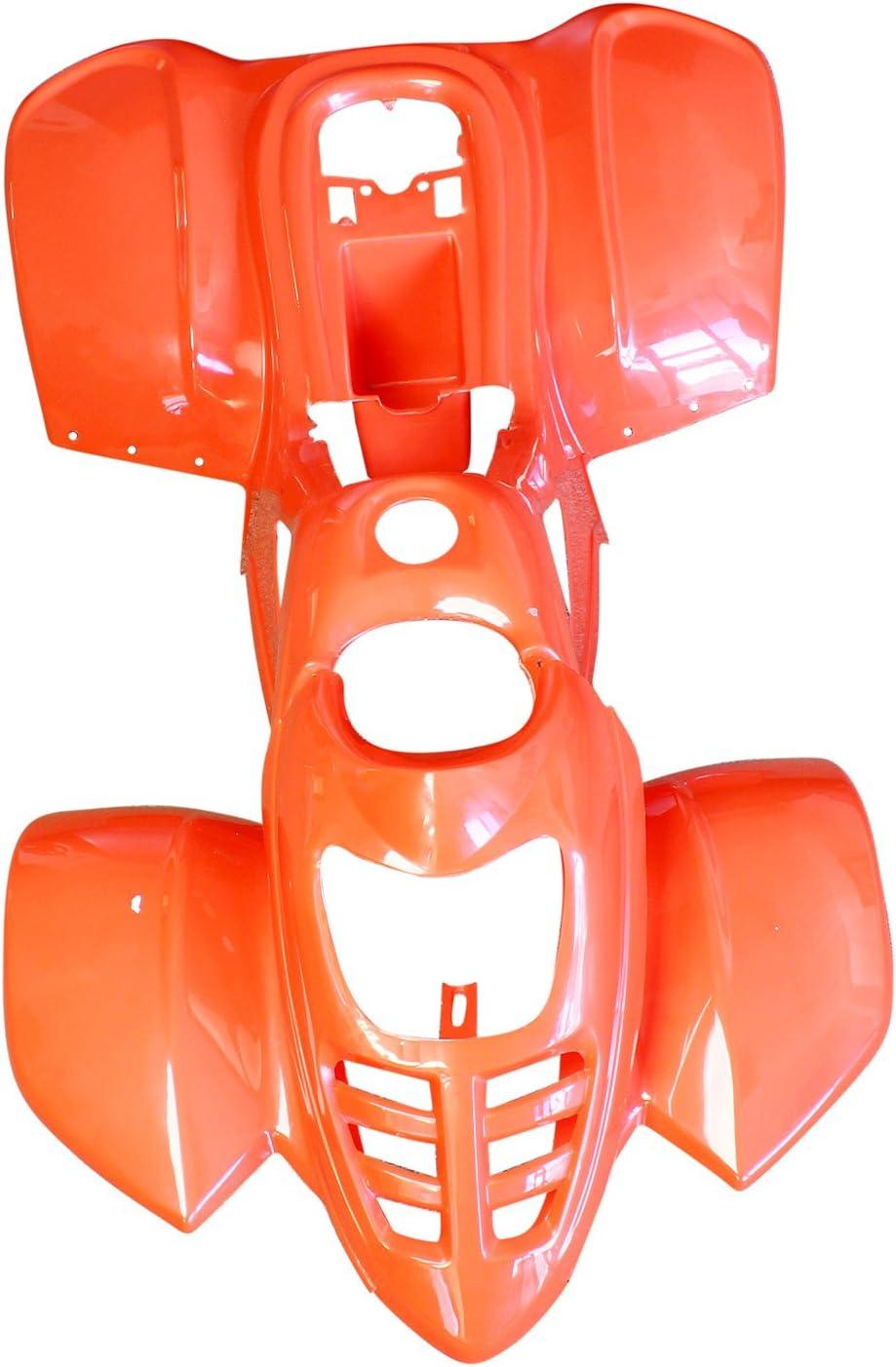 ATV Quad Body Plastic front rear fender fit Taotao only 110B 110cc Black Spider