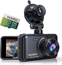 "Dash Cam Car Dashboard Camera - Contain 32GB SD Card,Full HD 1080P Dash Camera for Cars,3"" IPS Screen Wide-Angle Lens Car Camera,G-Sensor ,Loop Recording,Parking Monitoring.(2019 Star Version)"