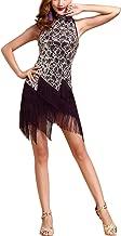 Whitewed Roaring 1920s 20s Sequin Tassel Paisley Flapper Girl Costume Dress
