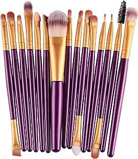 Pro 15Pcs Makeup Brushes Set Eye Shadow Foundation Powder Eyeliner Eyelash Lip Make Up Brush Cosmetic Beauty Tool Kit Hot,ZJ
