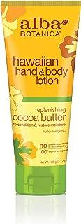 Alba Botanica Replenishing Cocoa Butter Hawaiian Hand & Body Lotion, 7 oz.
