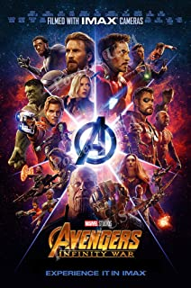 Posters USA Marvel Avengers Infinity War Movie Poster GLOSSY FINISH - FIL755 (24