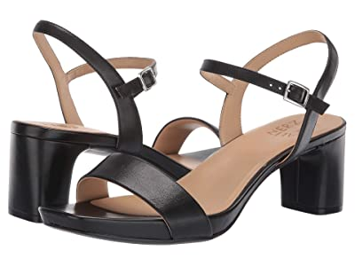 Naturalizer Ivy (Black Leather) High Heels