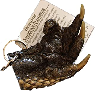 Alligator Claw Paw Real Gator Key Ring Swamp People Magic Voodoo New Orleans Bayou