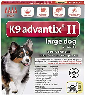 K9 ADVANTIX II LG Dog