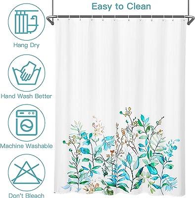 "Bathroom Shower Curtain 72"" x 72"" Colored Leaves Shower Curtains for Bathroom Durable Waterproof Bath Curtain,1 PCS"