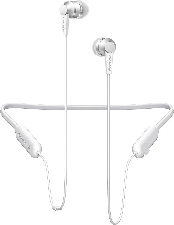 Pioneer in-Ear Wireless Headphones, White, SE-C7BT(W)