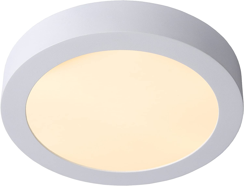 15 W Aluminium Lucide 28116//24//31 Plafonnier Blanc
