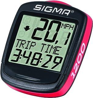 comprar comparacion Sigma Elektro01950 -Cuentakilómetros de ciclismo, 1200, Negro, Rojo