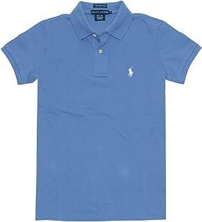 Ralph Lauren mujer la Skinny polo pony Logo camiseta (L), color ...