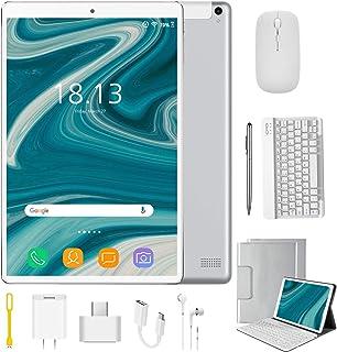 Tablet 10.1 Pulgadas 4G Android 9.0 Quad Core DUODUOGO P8 Tablet 4GB RAM 64GB ROM/128GB Escalables 8000mAh Dual SIM/Cámara...