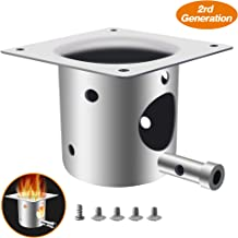 ANGINSTAR Fire Burn Pot Upgraded, BBQ Replacement Parts Integrated molding Pellet Grills Accessories for Traeger and Pit boss Pellet Grill Burner