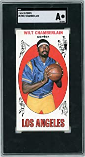 1969-1970 Topps #1 Wilt Chamberlain SGC Authentic - Basketball Slabbed Cards
