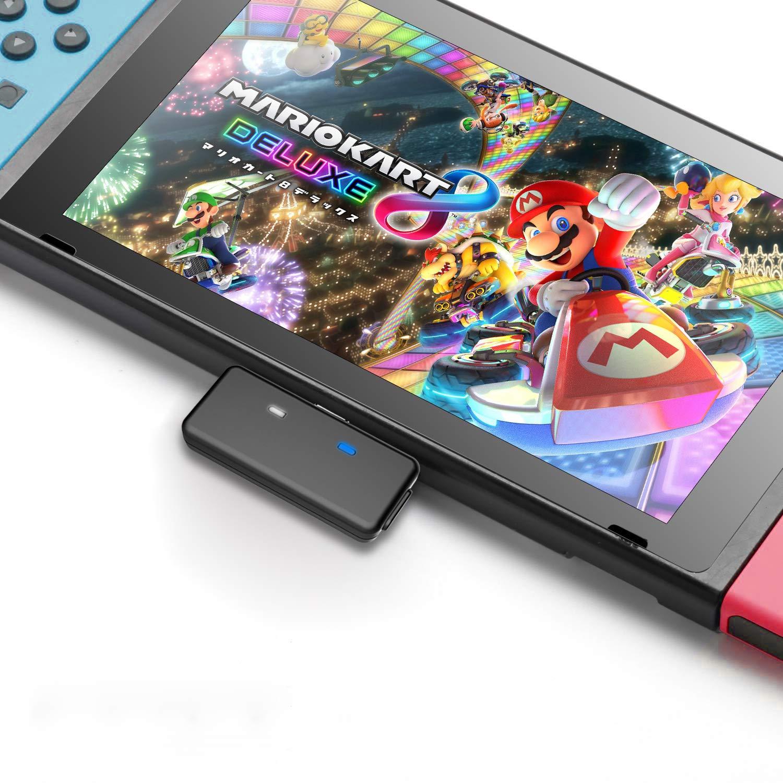 Nintendo - Transmisor Bluetooth Adaptador de Audio para Nintendo Switch, AirPods PS4 Bose Sony, Auriculares Bluetooth, TV, portátil, Ordenador (Negro): Amazon.es: Electrónica