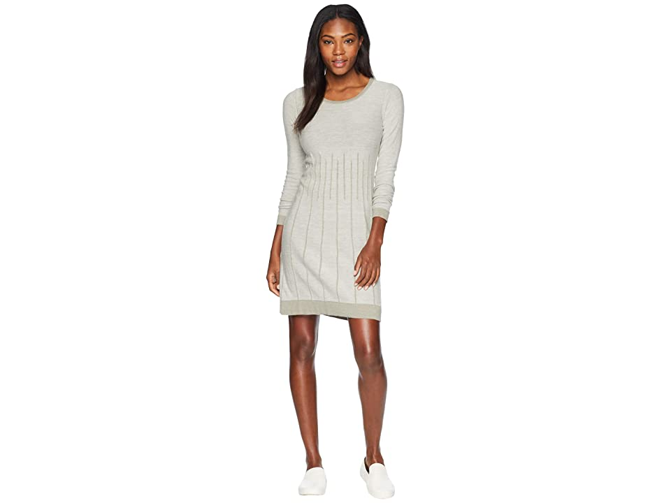 Aventura Clothing Malina Dress (Whisper White/Gravel) Women
