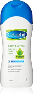 Cetaphil Ultra Gentle Refreshing Scent Body Wash, 500ml
