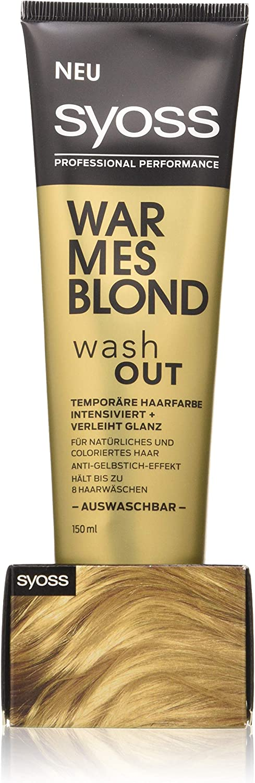 SYOSS Washout Nivel 1 - Tinte temporal para el cabello (150 ml)