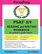 PSAT 8/9 READING and WRITING Workbook: for students in grades 8 and 9 (Focusprep)