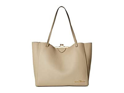 Marc Jacobs The Kisslock Tote (Khaki) Handbags