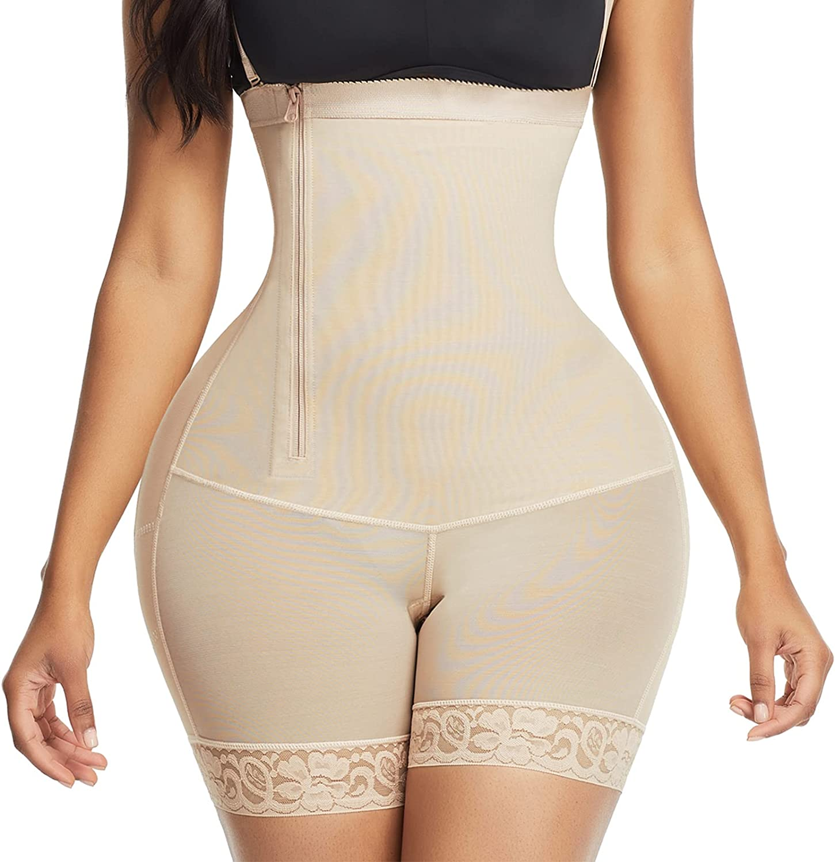 FeelinGirl SEAL limited product Body Shaper for Women Quantity limited Side Zi Shapewear Control Tummy