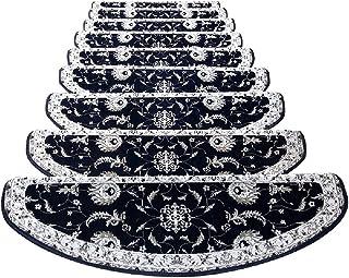 JIAJUAN Stair Carpet Treads Non Slip Wear Resistant Self Adhesive Ottomans Staircase Mats Washable European Style, Customi...