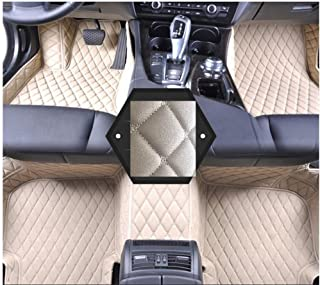 Skoda Superb 2012 Car Mats ( ECO-Friendly XPE Leather 5D Diamond Stitching Designed) No Smell (beige)