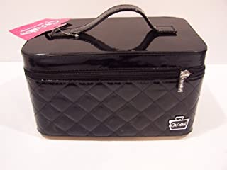Caboodles I Candy Makeup Cosmetic Train Case (Black Patent)