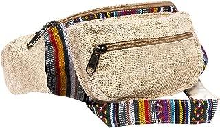CoreHemp Fanny Pack for men and women Waist Belt Bag Handmade packs From Pure Hemp (Classic)