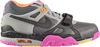 Nike Air Trainer III 3 PRM QS BO Knows Horse Racing Men's Shoes Grey/Black-Pink 682933-001