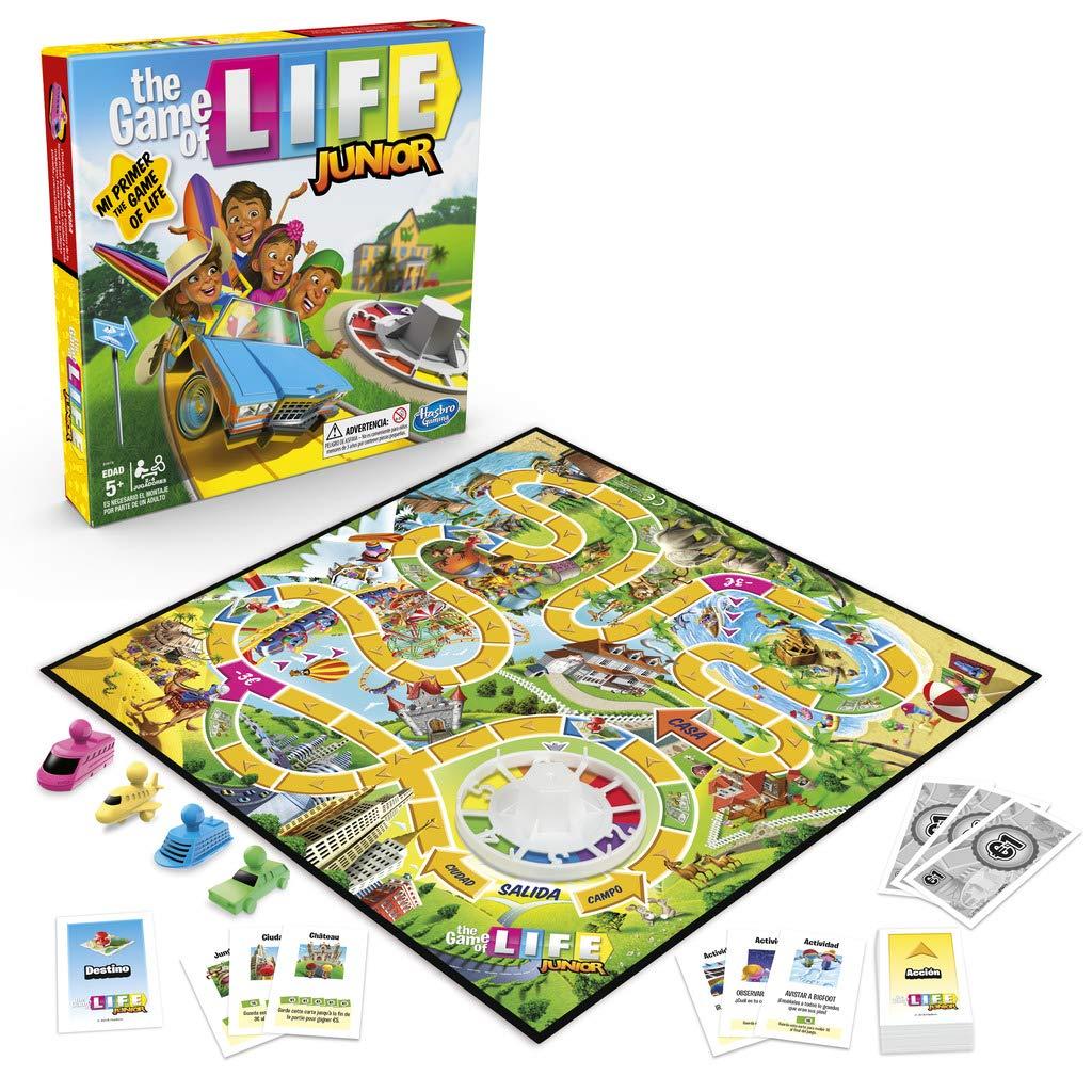 Hasbro Gaming Game of Life Junior (E6678105): Amazon.es: Juguetes y juegos