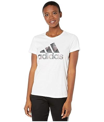 adidas Universal Badge Of Sport Tee (White) Women