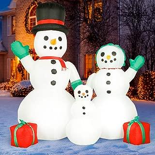 Best inflatable snowman christmas decoration Reviews