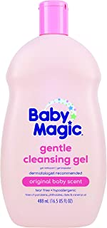 Baby Magic Cleansing Gel, Original Baby Scent, 16.5 Oz