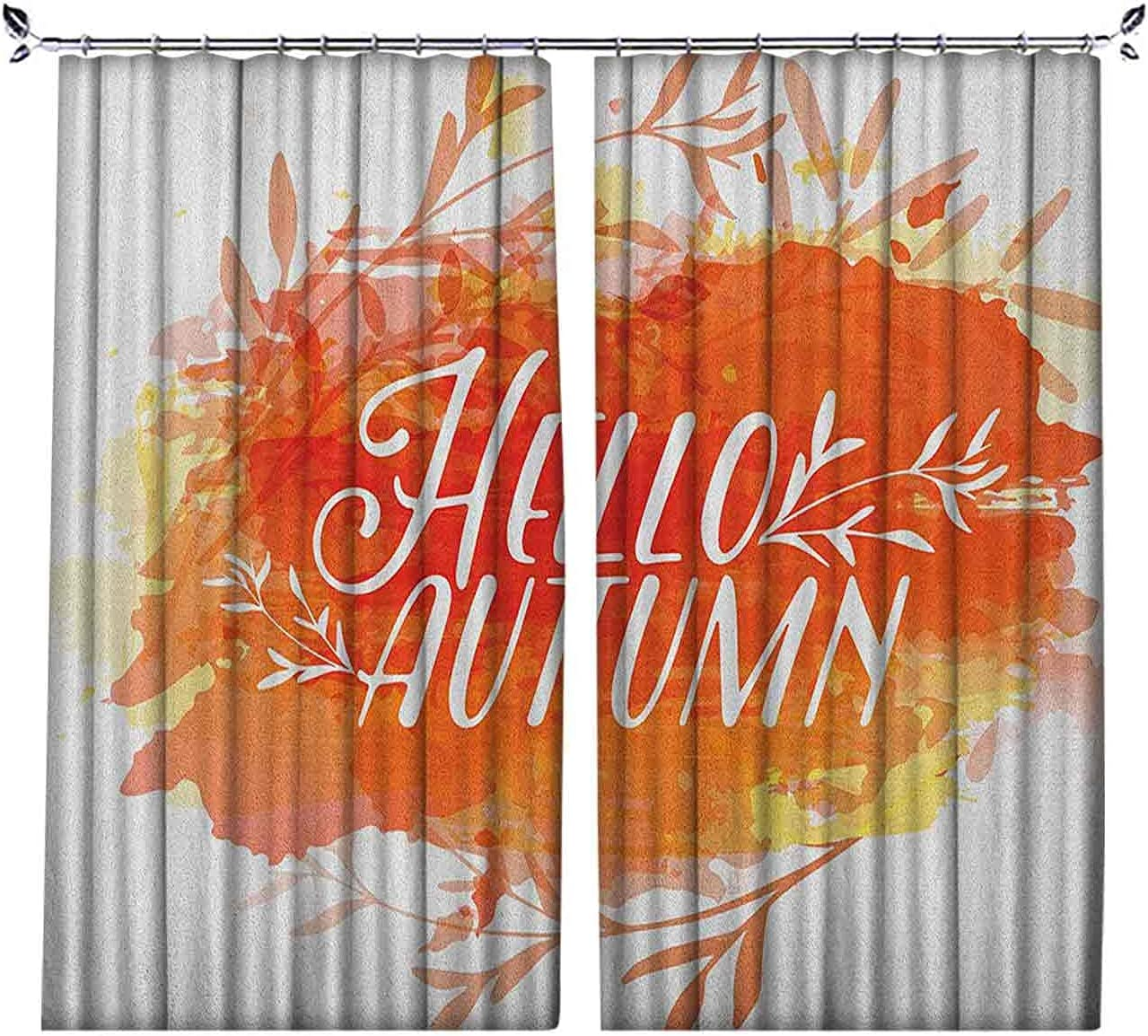Pleated Ranking integrated 1st place Limited price sale Heat Insulation Hello Curtains Inspirati Autumn
