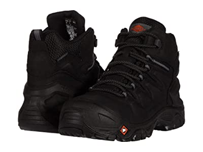 Merrell Work Strongfield Leather 6 Waterproof Composite Toe (Black) Men
