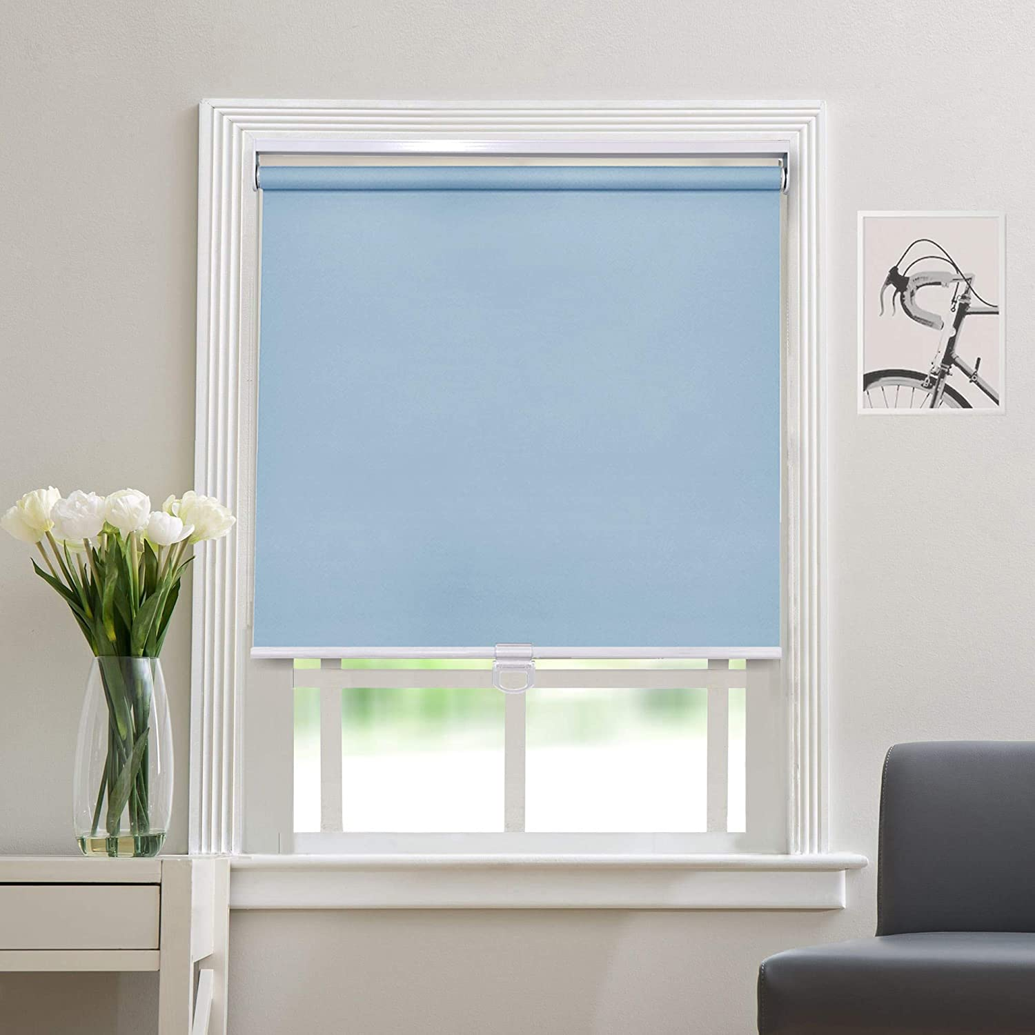 Blackout Cordless Roller Blinds and Windows Seasonal Max 87% OFF Wrap Introduction - Shades for Safety