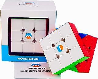LiangCuber Monster Go 3x3 M Stickerless Speed Cube GAN MonsterGo 3x3x3 Magnetic Magic Cube Puzzle