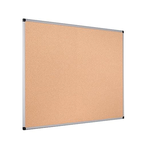 Bi-Office MC030012010 Cork Board Budget wood Brown Wood Frame 60 x 40 cm