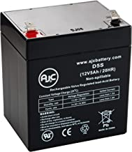 National NB12-5 Sealed Lead Acid - AGM - VRLA Battery - This is an AJC Brand Replacement