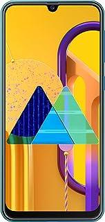 هاتف جالكسي ام 30 اس من سامسونج ثنائي شرائح الاتصال - بذاكرة سعة 64 جيجا وذاكرة رام 4 جيجا من الجيل الرابع ال تي اي، بلون ازرق