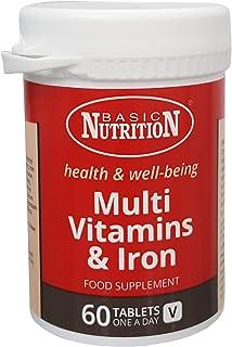 Basic Nutrition Multivitamins And Iron Rda Tablet
