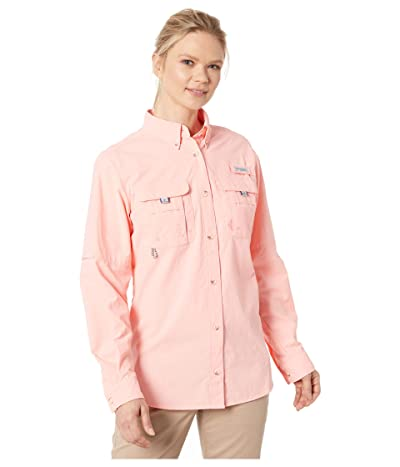 Columbia Bahama L/S Shirt (Tiki Pink) Women