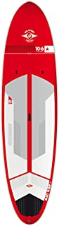 BIC Sport ACE-TEC Performer Sup Stand Up Paddleboard, Gloss Red/White/Grey, 10'6