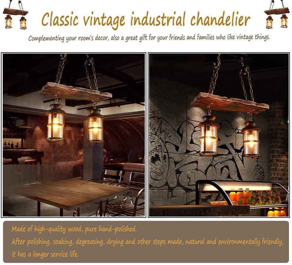 Pendelleuchte Vintage,E27 Industrielle Loft Bar Hängeleuchte Kreativ Persönlichkeit Wohnzimmer Esszimmer Schlafzimmer Studie Kronleuchter Höhenverstellbar Untergeschoss Dekoration (26,7 * 39,4 Zoll) Kronleuchter